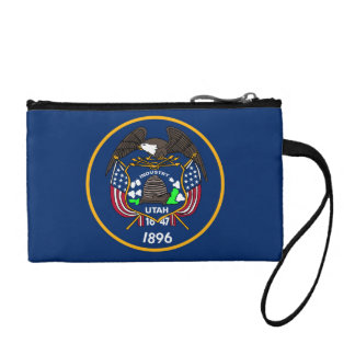 Utah Flag Change Purse