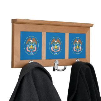 UTAH FLAG COAT RACKS