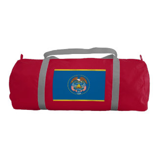 UTAH Flag Gym Duffel Bag