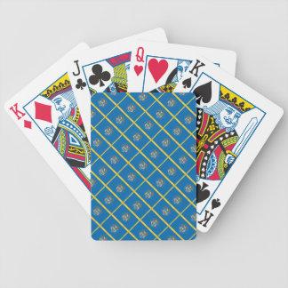 UTAH Flag Pattern Poker Cards