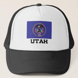 Utah Flag Trucker Hat