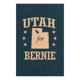 UTAH FOR BERNIE SANDERS CORK PAPER PRINT