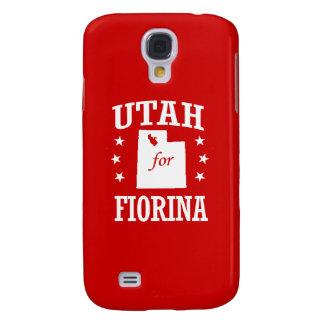 UTAH FOR FIORINA GALAXY S4 CASE
