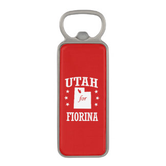 UTAH FOR FIORINA MAGNETIC BOTTLE OPENER