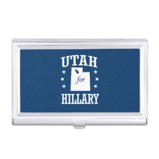 UTAH FOR HILLARY BUSINESS CARD CASE