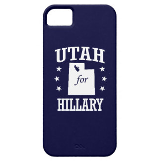 UTAH FOR HILLARY iPhone 5 CASES