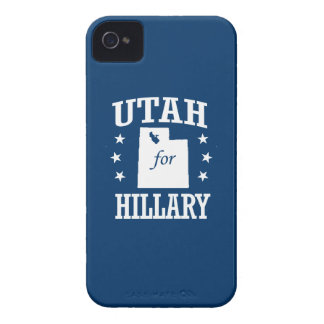 UTAH FOR HILLARY iPhone 4 CASE