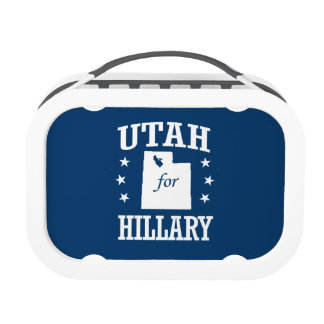 UTAH FOR HILLARY LUNCH BOX