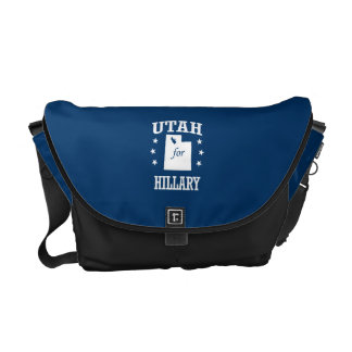 UTAH FOR HILLARY COURIER BAGS