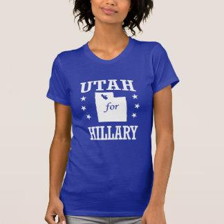 UTAH FOR HILLARY T SHIRT