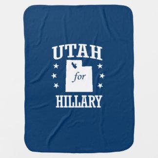 UTAH FOR HILLARY BABY BLANKET