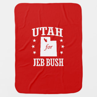 UTAH FOR JEB BUSH BUGGY BLANKETS