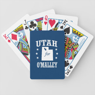 UTAH FOR O'MALLEY POKER CARDS