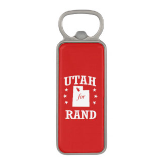 UTAH FOR RAND PAUL MAGNETIC BOTTLE OPENER