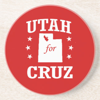 UTAH FOR TED CRUZ BEVERAGE COASTER