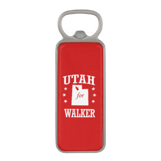 UTAH FOR WALKER MAGNETIC BOTTLE OPENER