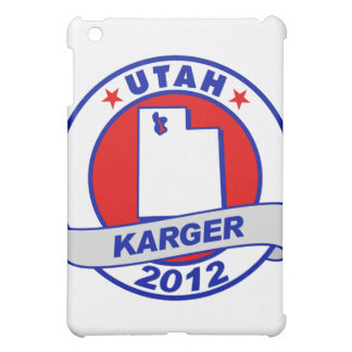 Utah Fred Karger iPad Mini Cover