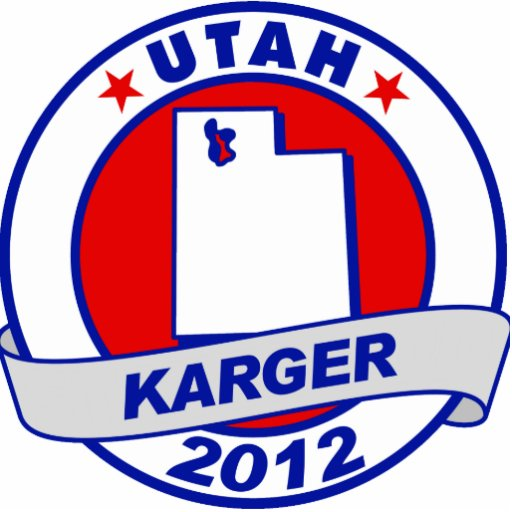 Utah Fred Karger Cut Out