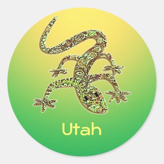 Utah Gecko / Salamander / Lizard Sticker 1