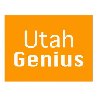 Utah Genius Gifts Postcard