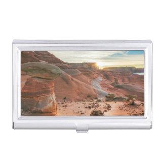 Utah, Glen Canyon National Recreation Area 3 Business Card Holder