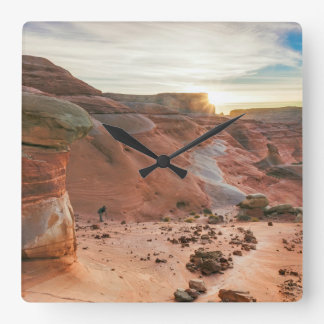 Utah, Glen Canyon National Recreation Area 3 Clocks