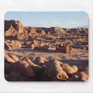 Utah, Goblin Valley State Park, Sandstone Mouse Mat