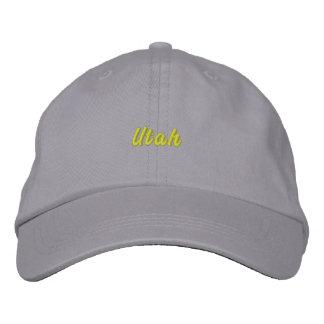 Utah Hat Embroidered Baseball Cap