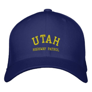 UTAH, HIGHWAY PATROL EMBROIDERED HAT