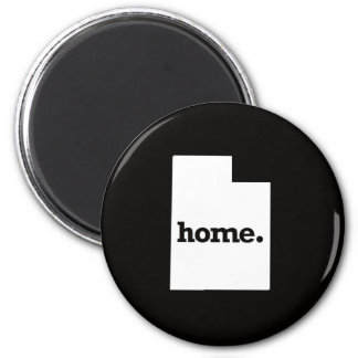 Utah Home 6 Cm Round Magnet