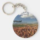 Utah Key Ring