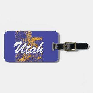 Utah Luggage Tag
