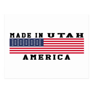 Utah Made In Designs Postcard