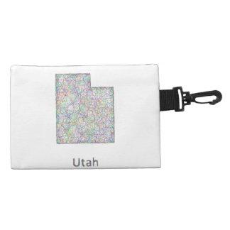 Utah map accessories bags