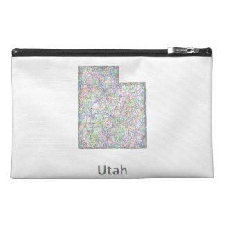 Utah map travel accessories bags