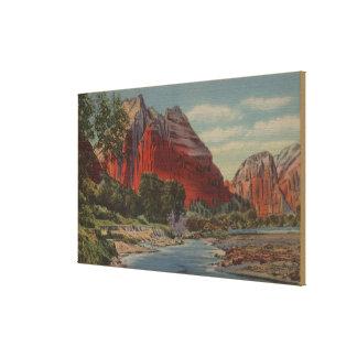 Utah - Mount Majestic & Angel's Landing Canvas Print