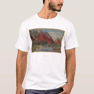 Utah - Mount Majestic & Angel's Landing T-Shirt