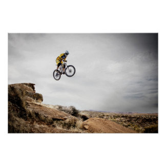 Utah mountain bike poster
