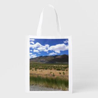 Utah Mountain Reusable Grocery Bag