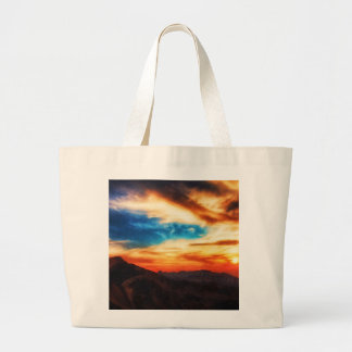 Utah Mountains Canvas Bag