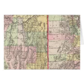 Utah, Nevada Card