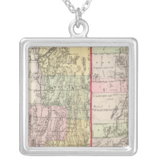 Utah, Nevada Silver Plated Necklace