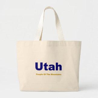 Utah-People of the mountains Large Tote Bag