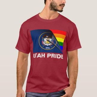 Utah Pride LGBT Rainbow Flag T-Shirt