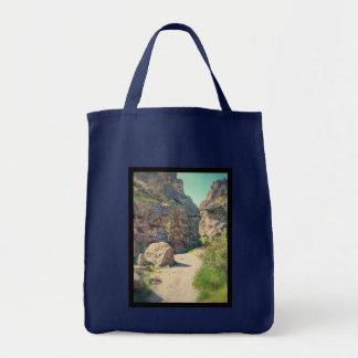 Utah Rocks #1 - Totebag Grocery Tote Bag