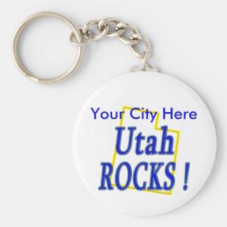Utah Rocks ! Key Ring