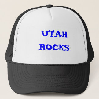 UTAH ROCKS TRUCKER HAT