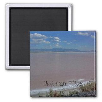 Utah Salt Flats Decorative Magnet