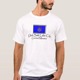 Utah Salt Lake City Central LDS Mission T-Shirt