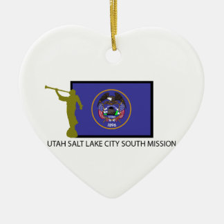 UTAH SALT LAKE CITY SOUTH MISSION LDS CTR CHRISTMAS ORNAMENT